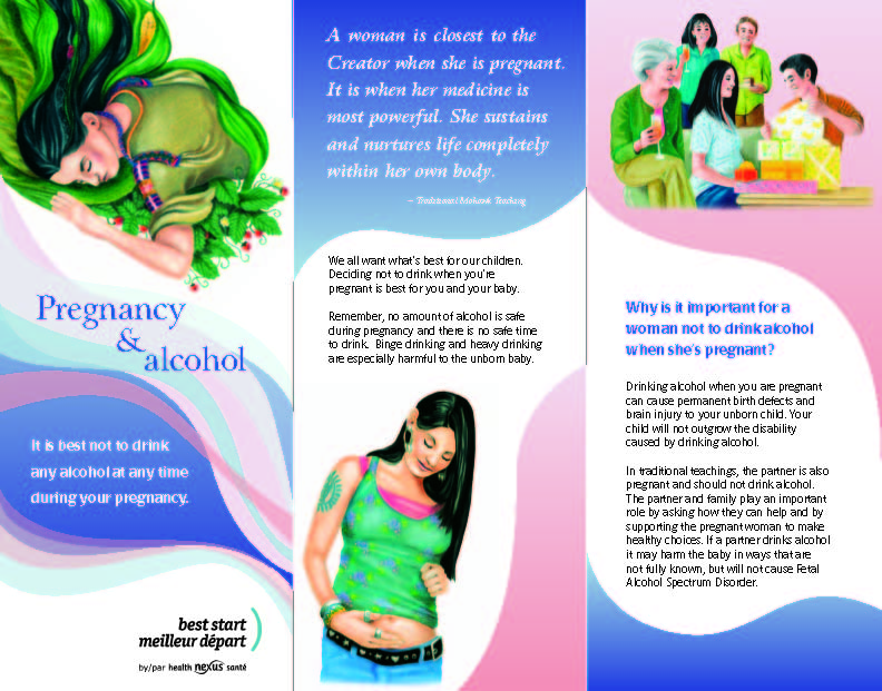 Pregnancy and Alcohol Brochure for Aboriginal Families | Girls ...