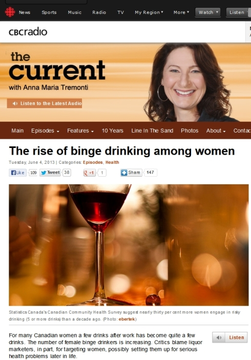 The rise of binge drinking among women