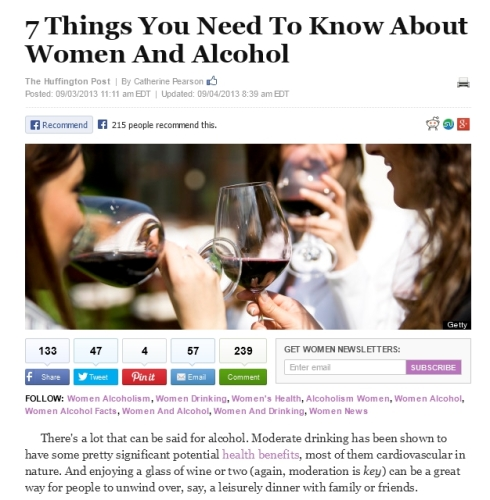 7 Things You Need To Know About Women And Alcohol' - www_huffingtonpost_com