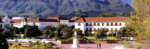 Stellenbosch University in South Africa was one of the institutions involved in this new study on case management. Image via http://www.sun.ac.za