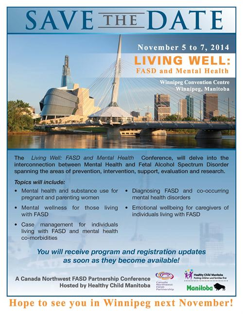 Living Well: FASD and Mental Health Conference in Winnipeg ...