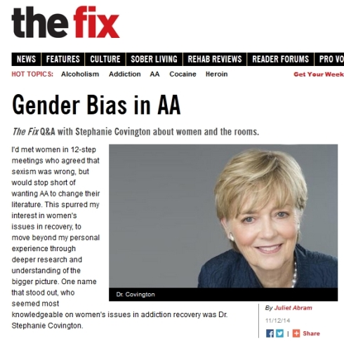 Gender Bias in AA I The Fix