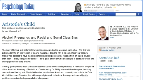 'Alcohol, Pregnancy, and Racial and Social Class Bias I Psychology Today'