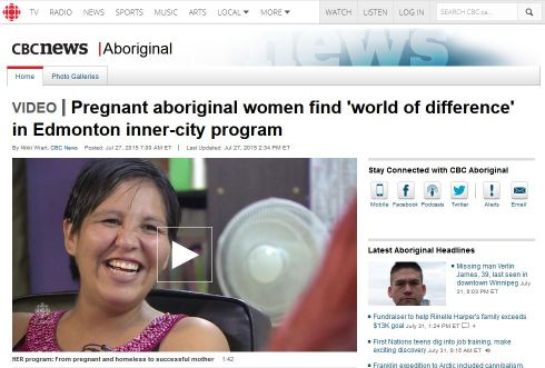 Edmonton inner-city program - Aboriginal - CBC'